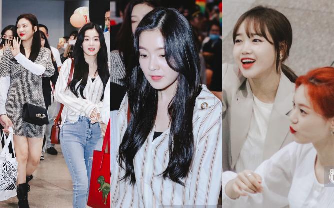 Nữ thần Irene khoe nhan sắc đời thực cực phẩm, Red Velvet