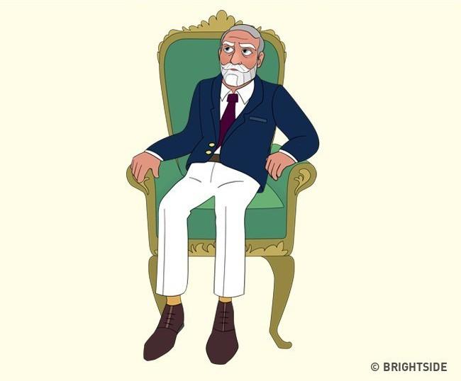 Cách bạn ngồi lên chiếc ghế này sẽ cho biết con người thực sự của bạn như thế nào - ảnh 7