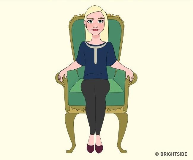 Cách bạn ngồi lên chiếc ghế này sẽ cho biết con người thực sự của bạn như thế nào - ảnh 9