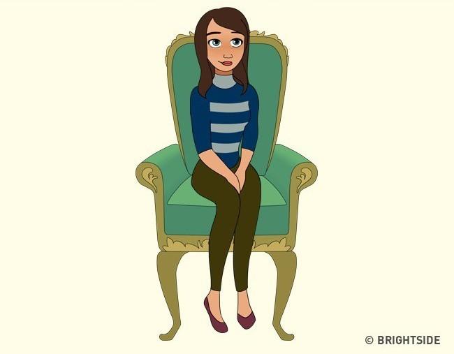 Cách bạn ngồi lên chiếc ghế này sẽ cho biết con người thực sự của bạn như thế nào - ảnh 13