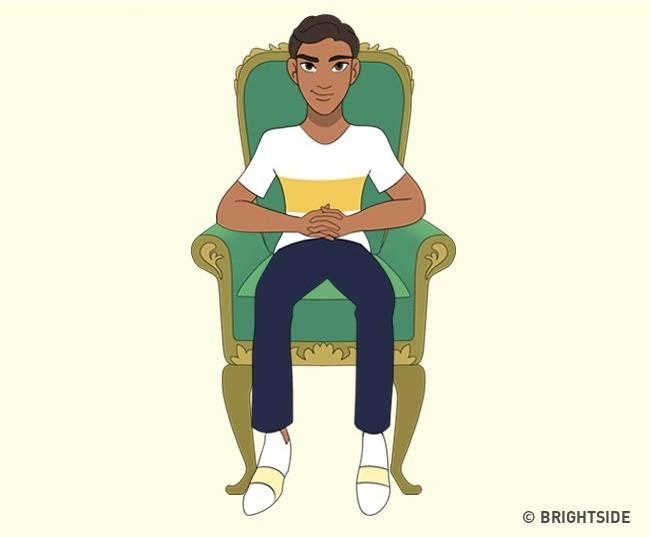 Cách bạn ngồi lên chiếc ghế này sẽ cho biết con người thực sự của bạn như thế nào - ảnh 15