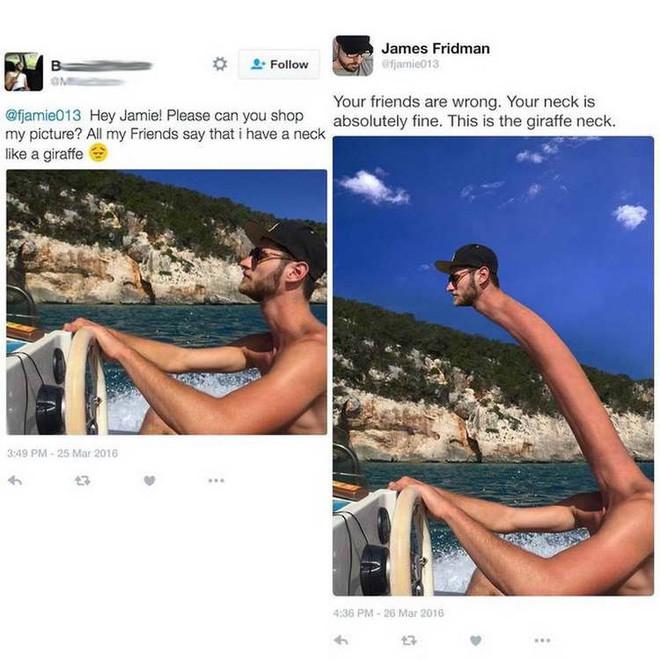 Cười đau ruột với 14 nạn nhân nhờ Thánh Photoshop sửa ảnh - ảnh 14