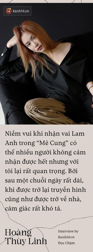 Hoàng Thùy Linh: Nếu biến cố xưa kia không buộc tôi tự tử thì hiện tại, quan trọng nhất là phải diễn tròn kịch bản ông trời sắp đặt - Ảnh 2.