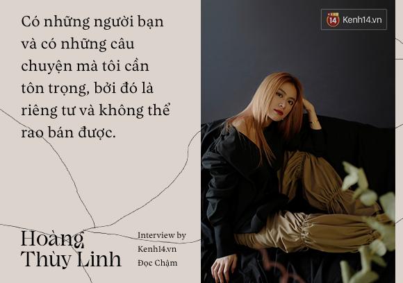 Hoàng Thùy Linh: Nếu biến cố xưa kia không buộc tôi tự tử thì hiện tại, quan trọng nhất là phải diễn tròn kịch bản ông trời sắp đặt - Ảnh 12.