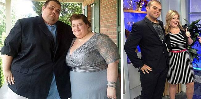Những màn lột xác vịt hóa thiên nga của các cặp đôi chứng minh chân lý đồng vợ đồng chồng béo đến mấy cũng giảm cân thành công - ảnh 1