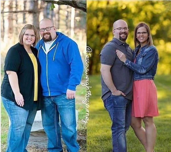 Những màn lột xác vịt hóa thiên nga của các cặp đôi chứng minh chân lý đồng vợ đồng chồng béo đến mấy cũng giảm cân thành công - ảnh 15