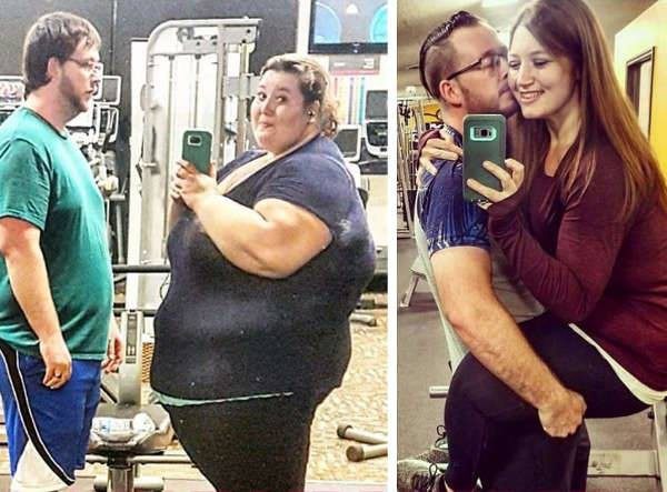 Những màn lột xác vịt hóa thiên nga của các cặp đôi chứng minh chân lý đồng vợ đồng chồng béo đến mấy cũng giảm cân thành công - ảnh 16