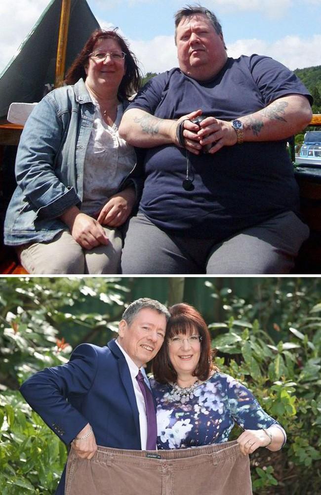 Những màn lột xác vịt hóa thiên nga của các cặp đôi chứng minh chân lý đồng vợ đồng chồng béo đến mấy cũng giảm cân thành công - ảnh 6