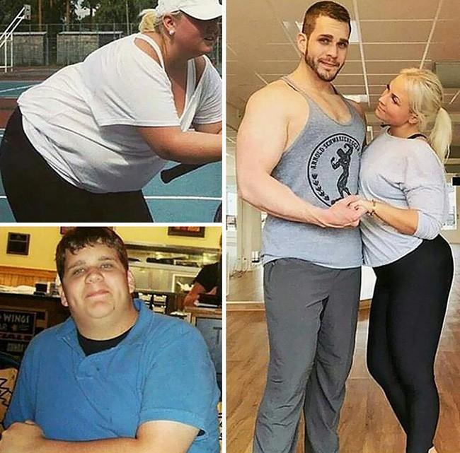 Những màn lột xác vịt hóa thiên nga của các cặp đôi chứng minh chân lý đồng vợ đồng chồng béo đến mấy cũng giảm cân thành công - ảnh 9