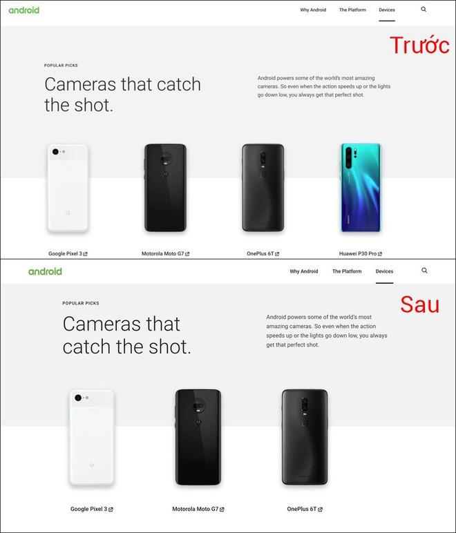 Chốt hạ: Google xóa tên Huawei khỏi website chính thức của Android - ảnh 2