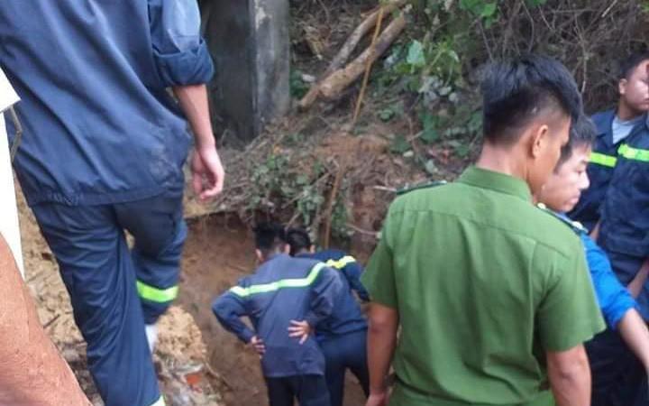 Sập giếng đào ở Nghệ An, 1 người tử vong