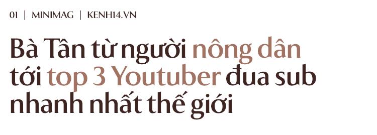 Bà Tân Vê Lốc: Từ người nông dân đến hiện tượng Youtube cán mốc 1 triệu sub chỉ sau 20 ngày - ảnh 1