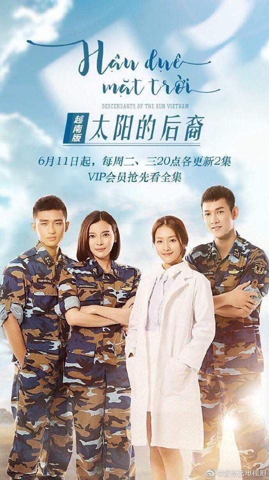 Bất ngờ chưa: Hậu Duệ Mặt Trời bản Việt được truyền hình Trung mua lại nhưng... viết sai tên đạo diễn - ảnh 4