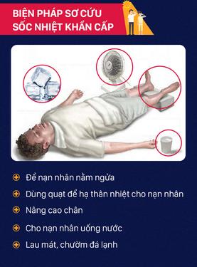 Từ trường hợp nghi tử vong do sốc nhiệt: Cần phòng và sơ cứu đúng cách - ảnh 1