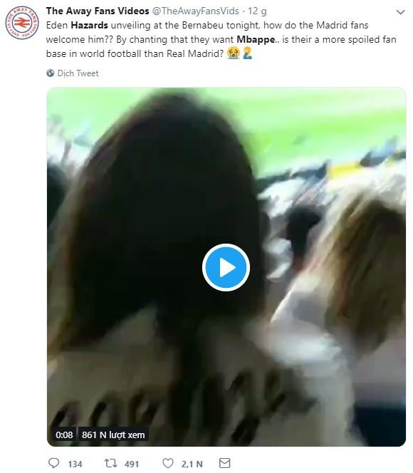 Có Eden Hazard nhưng vẫn muốn Mbappe, CĐV Real Madrid bị cả cộng đồng bóng đá mạt sát - ảnh 2
