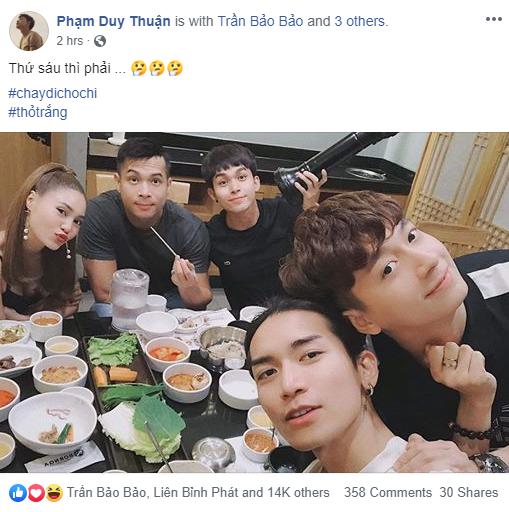 Cả dàn Running Man Việt cùng đăng tải 1 tấm hình, người được nhiều like nhất chính là... - ảnh 5