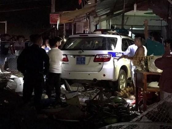 Khởi tố vụ thiếu úy điều khiển xe CSGT gây tai nạn khiến 1 người tử vong - ảnh 2