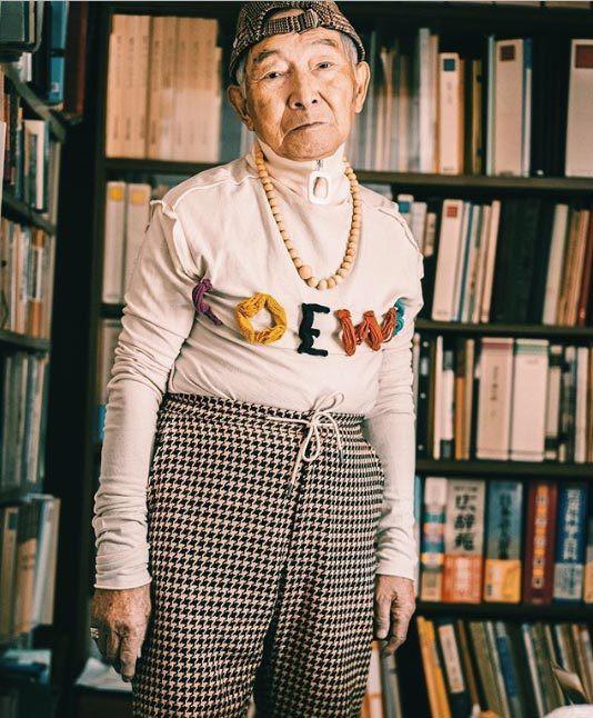 Gu ăn mặc cực chất của biểu tượng thời trang 84 tuổi - ảnh 9