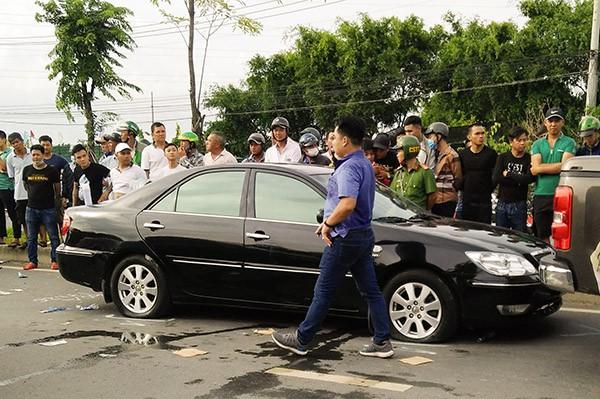 Tạm đình chỉ công tác 2 công an trong vụ nhóm giang hồ chặn xe công an ở tỉnh Đồng Nai - ảnh 2