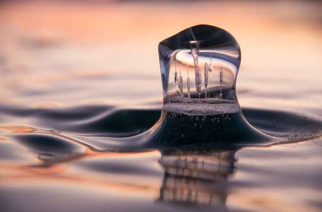 Những hình ảnh đáng kinh ngạc về tạo hình băng trên hồ Baikal - ảnh 8