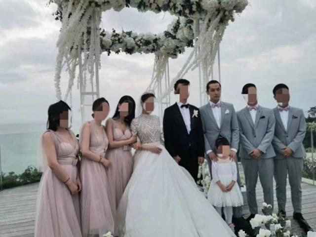 Đám cưới nhỏ bất ngờ hot vì Thánh Ế Hồ Ca mặc váy hồng, tranh hoa cưới khi làm phù rể - ảnh 1