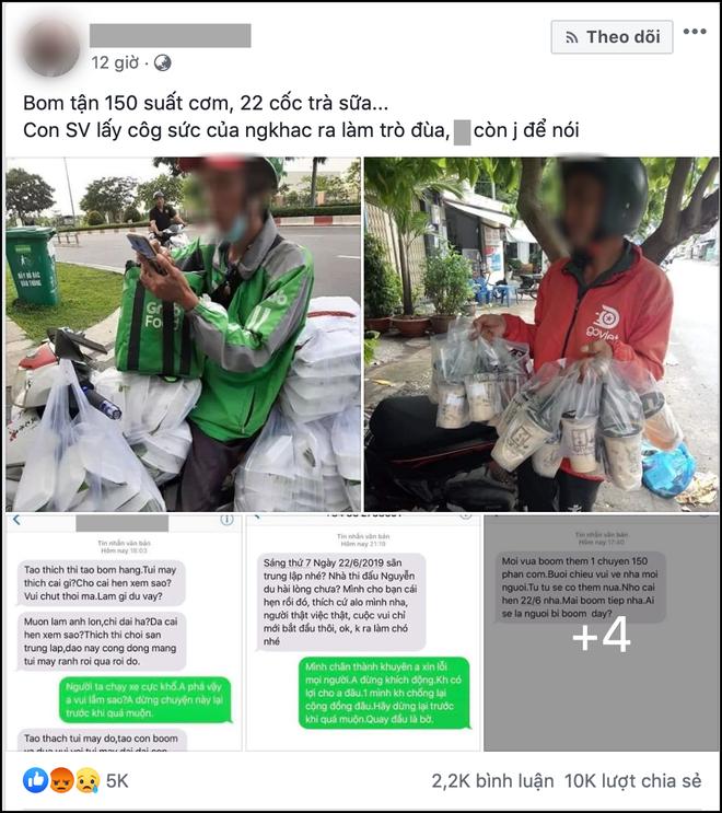 Xuất hiện câu chuyện nữ sinh Sài Gòn boom 150 hộp cơm và 22 ly trà sữa khiến dân mạng tranh cãi: Trò ác lặp lại hay chỉ câu like? - ảnh 1
