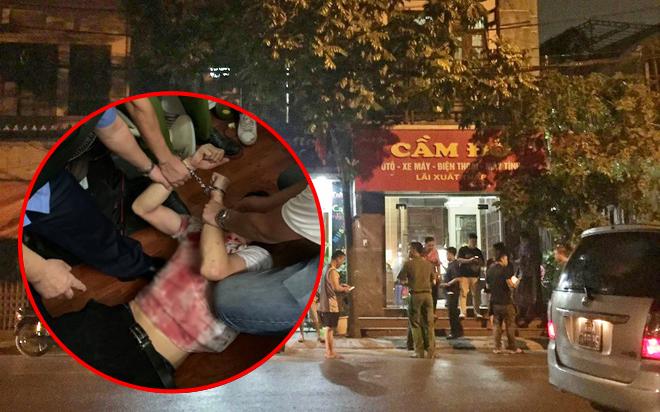 Hà Nội: Khởi tố đối tượng khống chế, gây thương tích cho nữ chủ tiệm cầm đồ