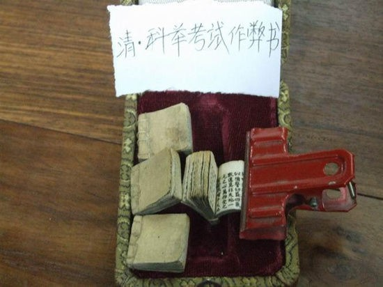 Chiêu trò gian lận thi cử ở Trung Quốc xưa: Vải thưa nhưng che được mắt Thánh - ảnh 4