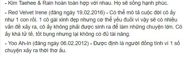 Rùng mình hàng loạt lời tiên tri chính xác về sao Hàn: Vụ chấn động của YG và Song Song trúng phóc, số 5 sốc nhất - Ảnh 16.