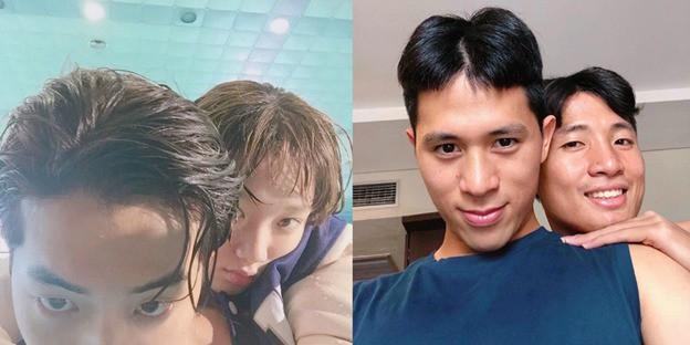 Cầu thủ tuyển Việt Nam và đồng đội luyện skill chụp ảnh như dàn nam thần Hàn: 10 điểm thần thái, 9 điểm đẹp trai! - ảnh 5