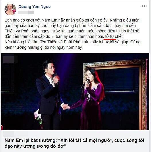 Chơi Facebook như Dương Yến Ngọc: Hết bắt mạch online phán Nam Em trầm cảm, lại trổ tài xem tướng cho Việt Anh khi thẩm mỹ - Ảnh 6.