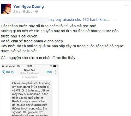 Chơi Facebook như Dương Yến Ngọc: Hết bắt mạch online phán Nam Em trầm cảm, lại trổ tài xem tướng cho Việt Anh khi thẩm mỹ - Ảnh 8.