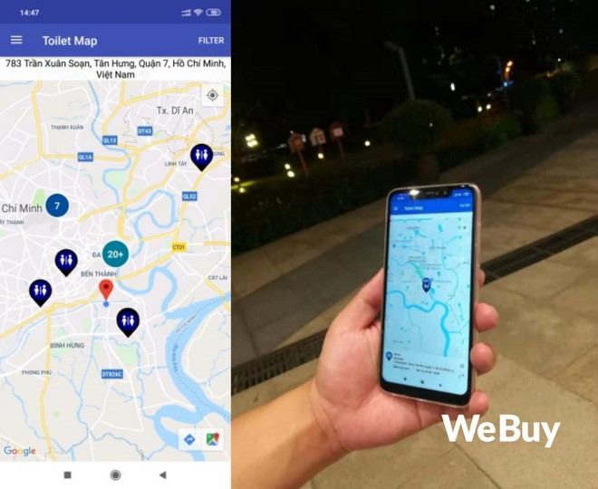 Trải nghiệm 3 ứng dụng tìm nhà vệ sinh tại Việt Nam, liệu có xịn hơn Google Maps? - ảnh 2