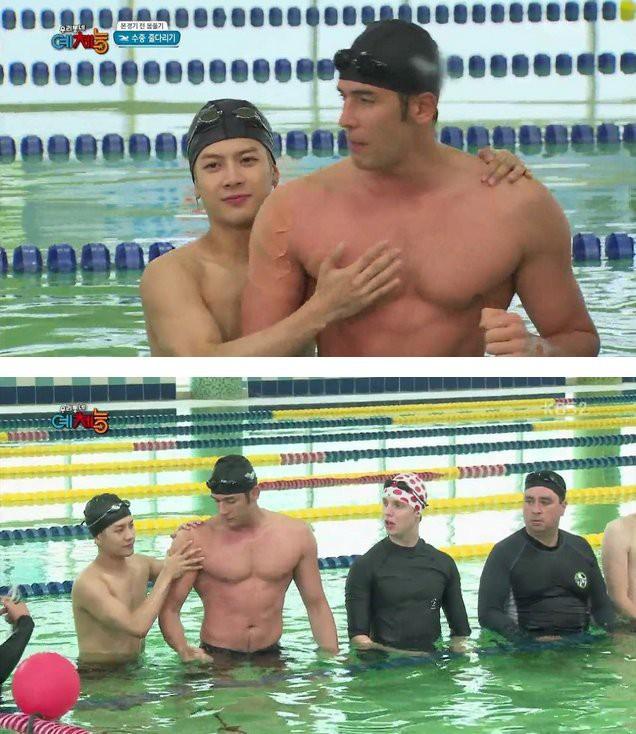 Giật mình các nam thần Hàn cao trên 1m9 đứng bên đồng nghiệp: Như người khổng lồ, Lee Kwang Soo chưa là gì so với số 5 - ảnh 7