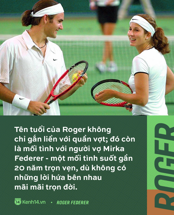 Huyền thoại số 1 của làng quần vợt - Roger Federer và tình yêu gần 20 năm thuỷ chung, say đắm với duy nhất một người  - Ảnh 1.