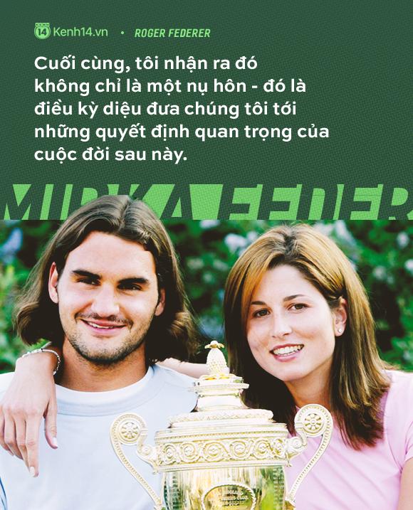 Huyền thoại số 1 của làng quần vợt - Roger Federer và tình yêu gần 20 năm thuỷ chung, say đắm với duy nhất một người  - Ảnh 3.