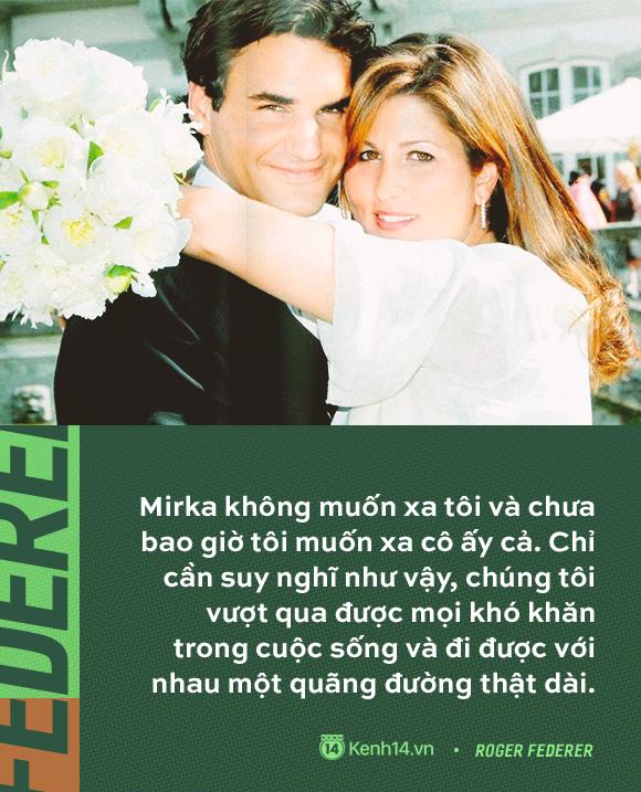 Huyền thoại số 1 của làng quần vợt - Roger Federer và tình yêu gần 20 năm thuỷ chung, say đắm với duy nhất một người  - Ảnh 5.