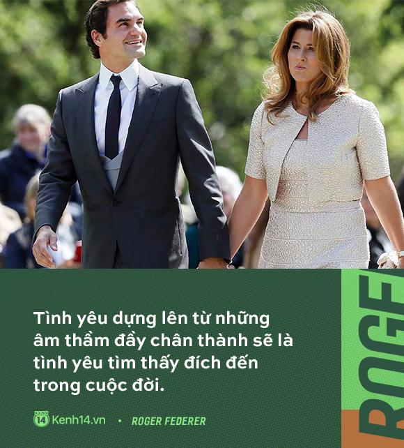 Huyền thoại số 1 của làng quần vợt - Roger Federer và tình yêu gần 20 năm thuỷ chung, say đắm với duy nhất một người  - Ảnh 7.