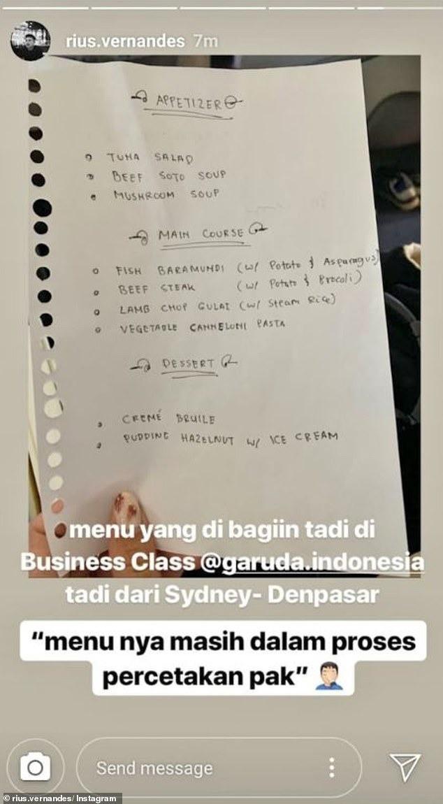 Đăng ảnh phàn nàn menu viết tay trên máy bay, cặp đôi blogger du lịch bị kiện và sắp sửa đối mặt mức án 4 năm tù giam - ảnh 2