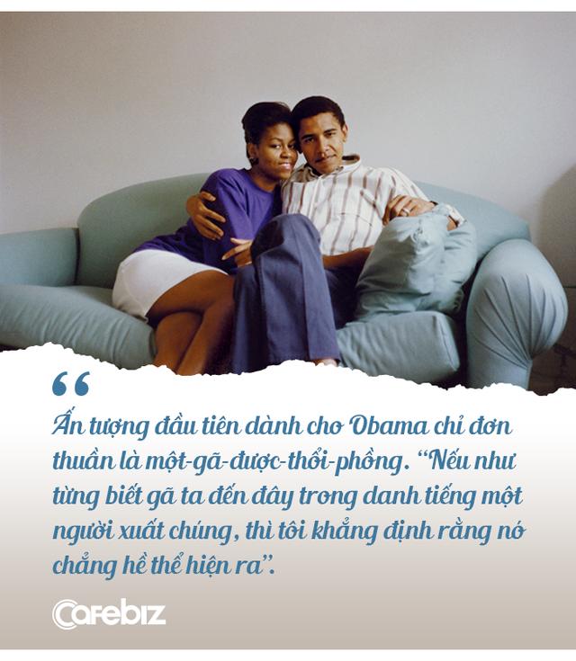 """Chuyện tình cựu Tổng thống Obama: Từ """"gã – được – thổi – phồng"""" đến ông chủ Nhà Trắng và công cuộc tán tỉnh công phu của những người có EQ cao - ảnh 4"""