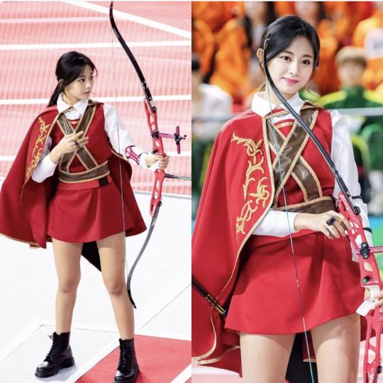 Nữ thần TWICE lại gây náo loạn Đại hội thể thao idol 2019: Ảnh fan chụp sương sương mà đẹp như nữ chiến binh - ảnh 12