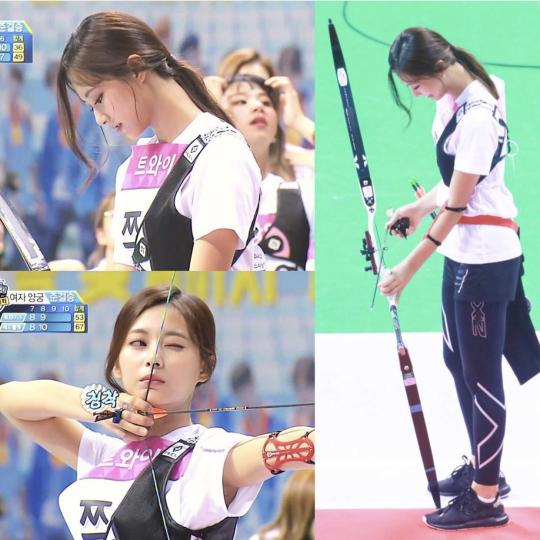 Nữ thần TWICE lại gây náo loạn Đại hội thể thao idol 2019: Ảnh fan chụp sương sương mà đẹp như nữ chiến binh - ảnh 11
