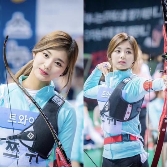 Nữ thần TWICE lại gây náo loạn Đại hội thể thao idol 2019: Ảnh fan chụp sương sương mà đẹp như nữ chiến binh - ảnh 10