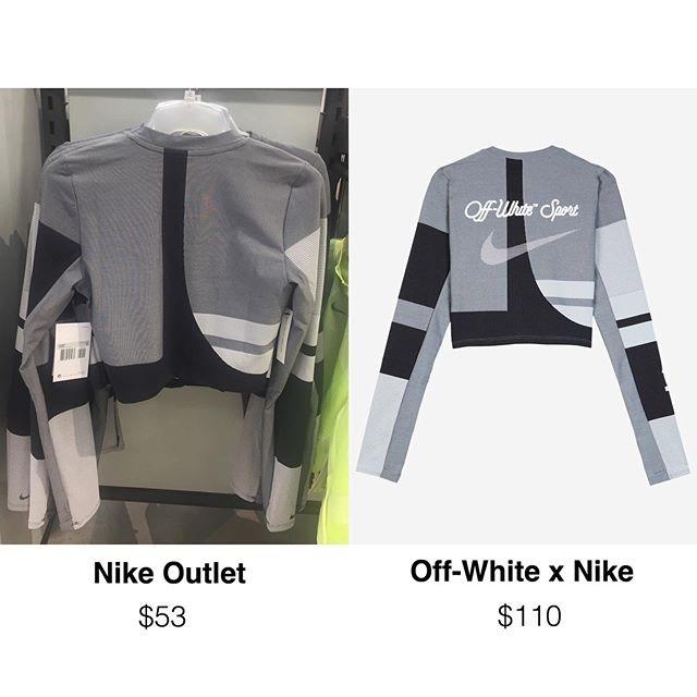 Làm giàu ngon ăn như Nike: in thêm logo Off-White lên đồ outlet rồi bán luôn giá gấp đôi! - ảnh 3