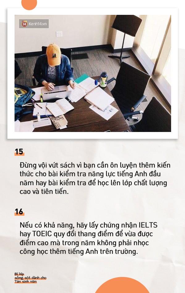 18 điều mà bất cứ tân sinh viên nào cũng phải làm khi bước chân vào Đại học nếu không sẽ hối hận suốt 4 năm - ảnh 8