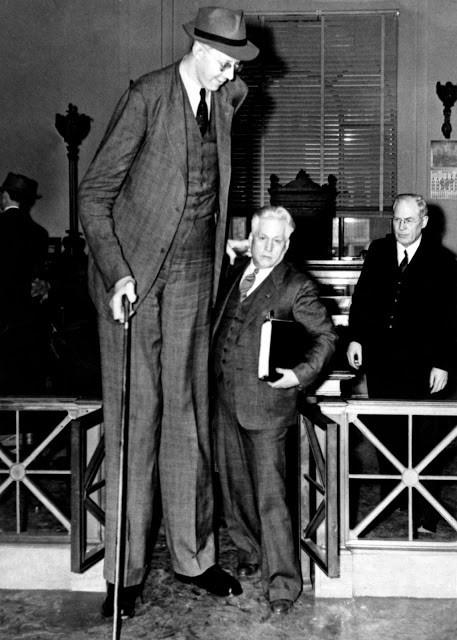 Ảnh hiếm về cuộc sống thường ngày của người đàn ông cao nhất lịch sử - ảnh 1