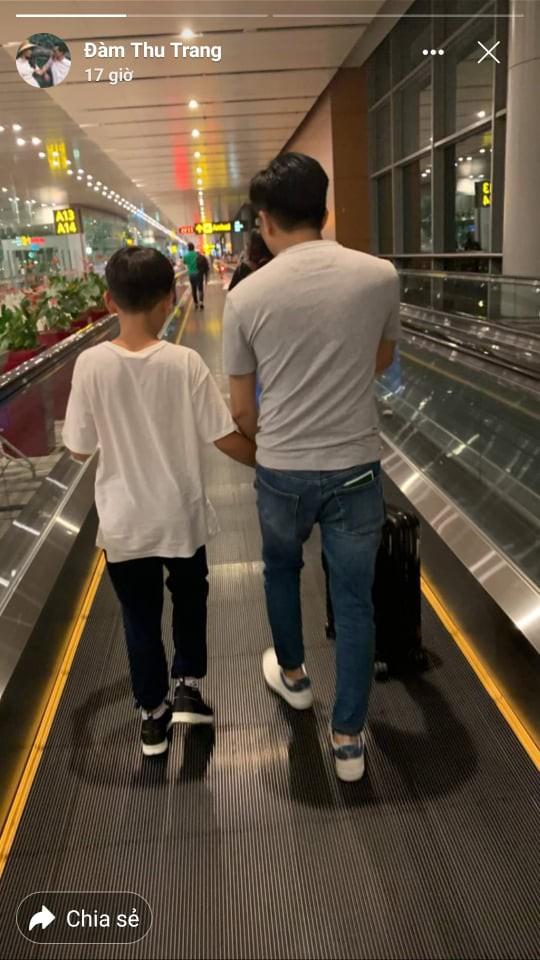 Cường Đô La nhí nhảnh hết mức bên Đàm Thu Trang và con trai Subeo trong chuyến đi nghỉ đầu tiên sau đám cưới - ảnh 2