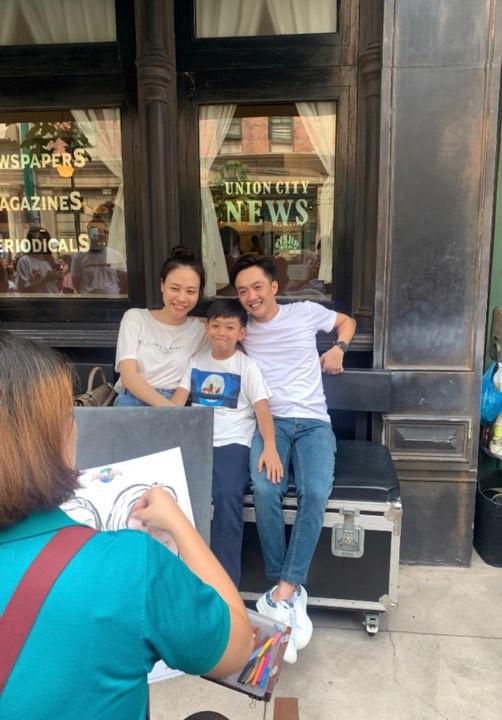 Cường Đô La nhí nhảnh hết mức bên Đàm Thu Trang và con trai Subeo trong chuyến đi nghỉ đầu tiên sau đám cưới - ảnh 3