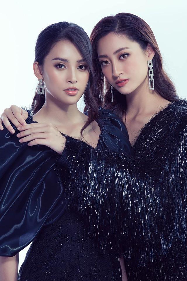 Cùng chị ngả em nâng với Trần Tiểu Vy, nhưng sao Lương Thùy Linh thật giống một cô Người tuyết sầu đời - Ảnh 1.