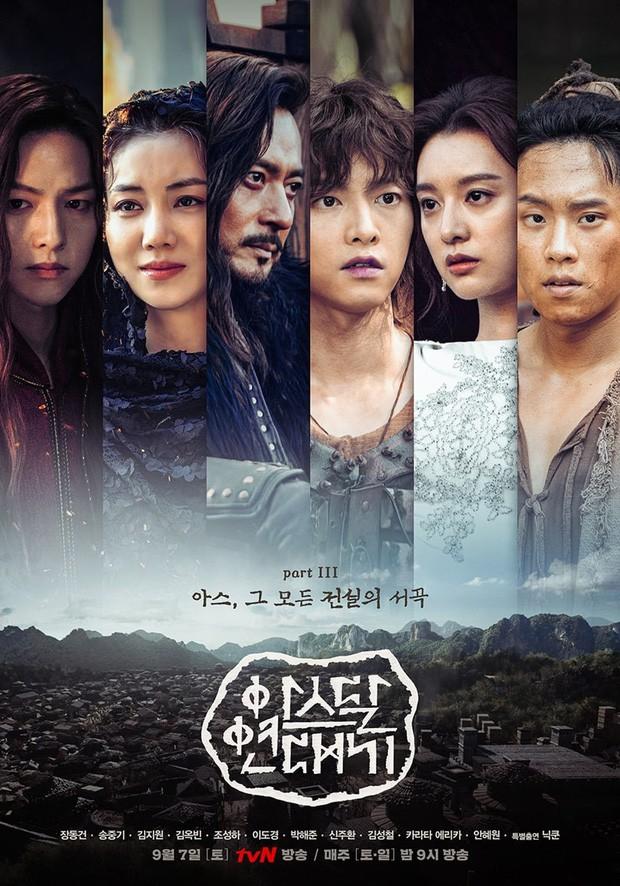 Arthdal Niên Sử Kí phần cuối nhá hàng dữ dội: Song Joong Ki và Kim Ji Won phân thân tung hoành! - Ảnh 10.